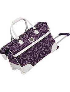 "Color On The Go 20"" Wheeled City Bag by Diane Von Furstenberg"