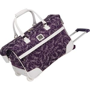 "Color On The Go 20"" Wheeled City Bag"