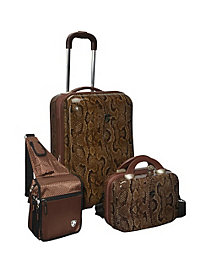 3 Piece Weekender Hardside Spinner Set by Heys USA