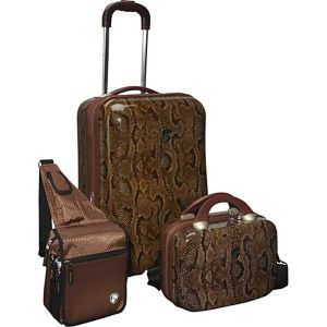3 Piece Weekender Hardside Spinner Set