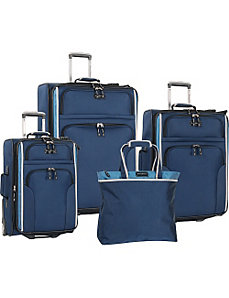 Deep Sea 4 Piece Luggage Set by Tommy Bahama Luggage