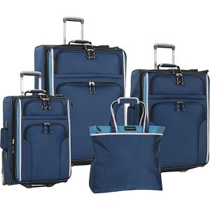 Deep Sea 4 Piece Luggage Set