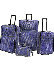 Holiday II 4 Piece Luggage Set by U.S. Traveler