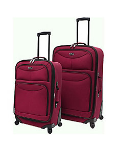 Fashion 2 Piece Spinner Luggage Set by U.S. Traveler