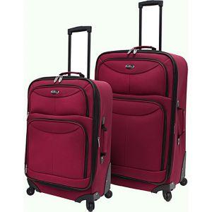 Fashion 2 Piece Spinner Luggage Set