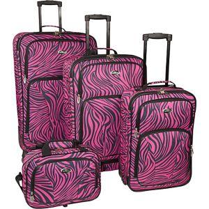 Fashion Zebra 4 Piece Spinner Set