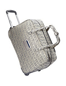 "Auto Pilot 20"" Wheeled Weekender by Anne Klein Luggage"