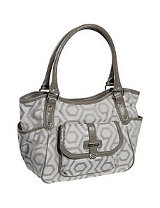 Hexagon 9s Jacquard Large Shopper by Nine West Handbags