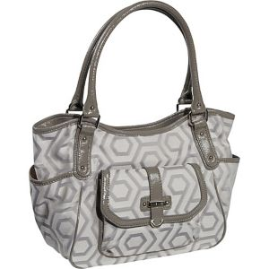 Hexagon 9s Jacquard Large Shopper
