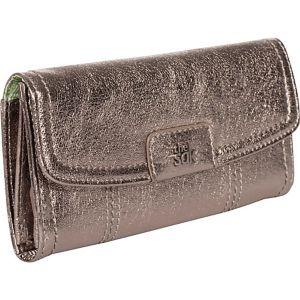 Iris Flap Wallet
