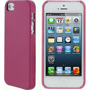 Ultra Slim Leather Shell Case for iPhone 5
