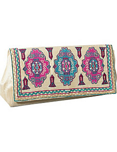 Purse w/ Moroccan Print by Moyna Handbags