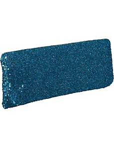 Beaded Evening Clutch - Metallics by Moyna Handbags