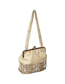 Framed Purse w/ Pearls by Moyna Handbags