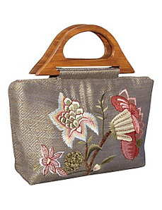 Tote Diamond Flower by Moyna Handbags