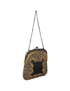 Mini Purse w/ Mixed Metal Beads by Moyna Handbags