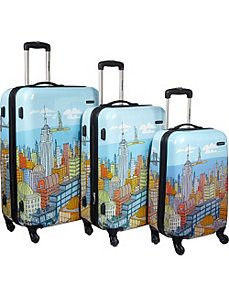 CityScapes 3 Piece Spinner Set by Samsonite