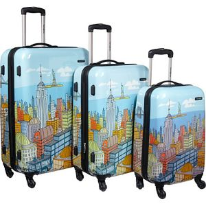 CityScapes 3 Piece Spinner Set