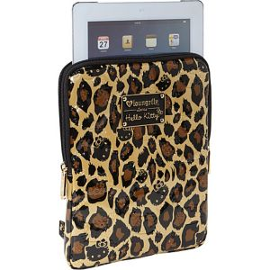 Hello Kitty Leopard Embossed iPad Case