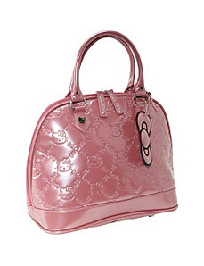 Hello Kitty Mauvewood Embossed Bag by Loungefly