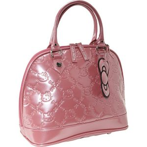 Hello Kitty Mauvewood Embossed Bag