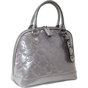 Hello Kitty Titanium Embossed Bag