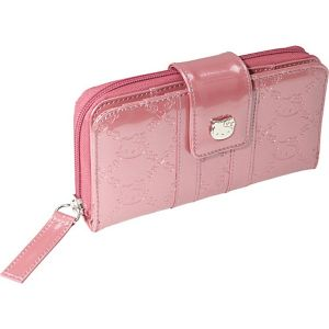 Hello Kitty Mauvewood Embossed Wallet
