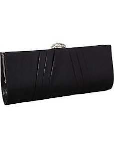 Metallic Classic Clutch by J. Furmani