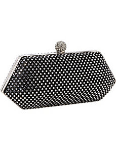 Hardcase Studded Evening Bag by J. Furmani