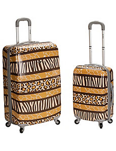 Safari 1 - 2 Piece Hardside Luggage Set by Rockland Luggage