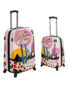 Vegas 2 - 2 Piece Hardside Luggage Set by Rockland Luggage