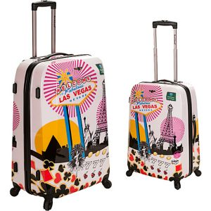 Vegas 2 - 2 Piece Hardside Luggage Set