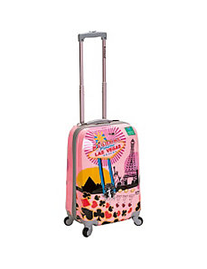 "Vegas 3 20"" Hardside Carryon by Rockland Luggage"