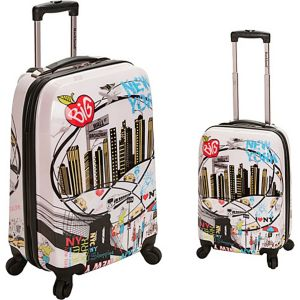 Traveler 2 Piece Hardside Luggage Set