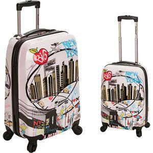 Traveler 2 Piece Hardside Luggage Set