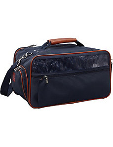 Nylon Pet Carrier - Small Navy by Bark n Bag