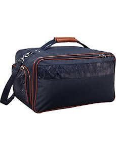 Nylon Pet Carrier - Large Navy by Bark n Bag