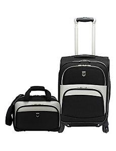 2 Piece Carry-on Spinner Luggage Set by Beverly Hills Country Club
