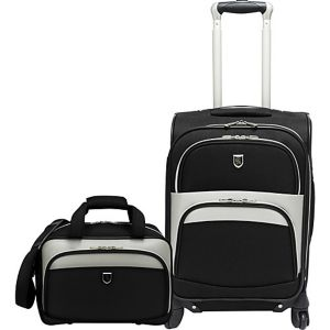 2 Piece Carry-on Spinner Luggage Set