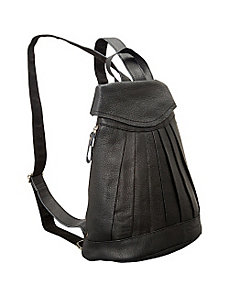 Pleated Mini-Backpack by AmeriLeather