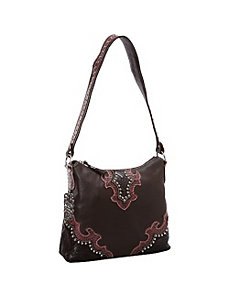 Southern Grace Zip-Top Structured Hobo by American West