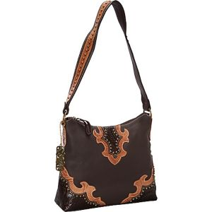 Southern Grace Zip-Top Structured Hobo