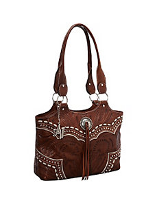 Sundance Zip-Top Fashion Tote by American West