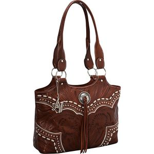 Sundance Zip-Top Fashion Tote