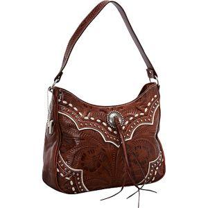 Sundance Zip-Top Shoulder Bag