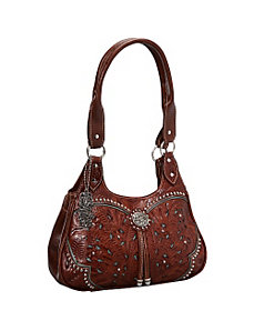Lady Lace 3 Compartment Tote by American West