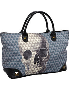 Pyramid Skull Tote by Loungefly