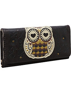 Owl With Heart Eyes Wallet by Loungefly