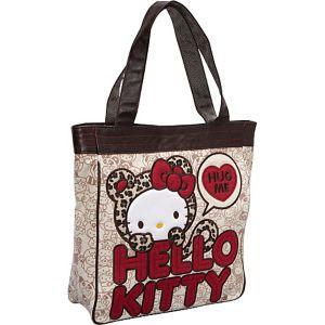 Hello Kitty Leopard Hug Me Tote