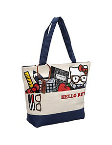 Hello Kitty Nerds Stuff Tote by Loungefly